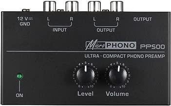 PP500 Mini Phono Tocadiscos Preamplificador de con Nivel y ...