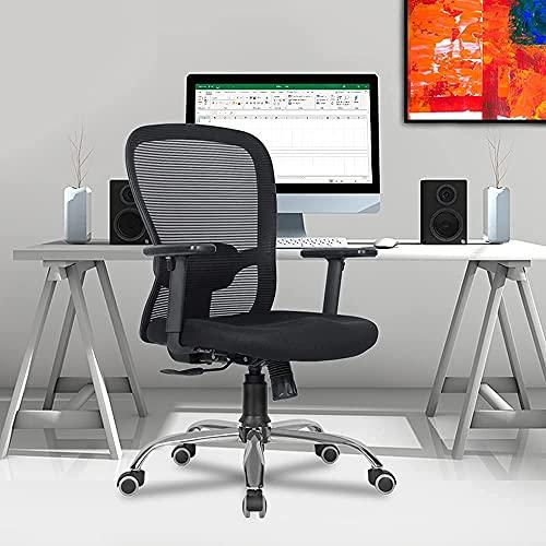 Green Soul® Crystal Mid-Back Mesh Office Executive Ergonomic Chair (Black)