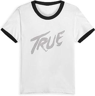 キッズ 子供服 Tシャツ Avicii True トップス 春夏 半袖 プリントシャツ カジュアル 丸首 男女の子兼用 子供の日 プレゼント 誕生日