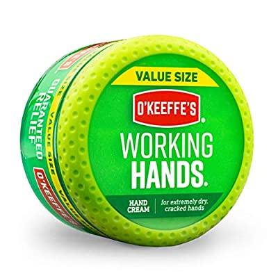 O'Keeffe's® Working Hands Value Size Jar 193g by O'Keeffe's UK