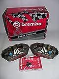 Brembo - Pinzas de freno monobloque con anclaje radial M4 de 108 mm de diámetro para motos Honda Kawasaki Yamaha, cód.220A39710