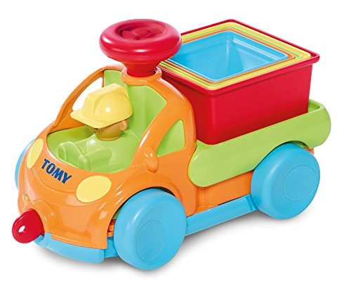 TOMY - Sortier- & Stapelspielzeug in Mehrfarbig