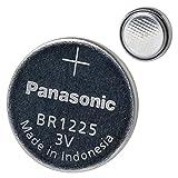 Panasonic BR1225 - Batteria al litio da 3 V, confezione da 5 pezzi