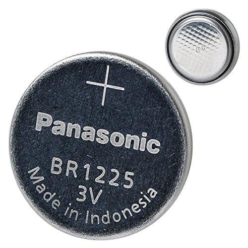 Panasonic BR1225 Lithiumbatterie,3V, 1 Packungx5 Stück, 5 Einwegbatterien