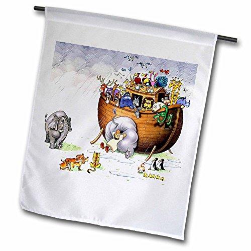 3dRose Noahs Ark-Gartenflagge, 30,5 x 45,7 cm (FL_869_1), variiert