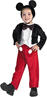 Mickey Mouse Deluxe Toddler Costume 3T to 4T - Toddler Halloween Costume
