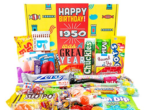 Best decade candy box 1950 for 2021