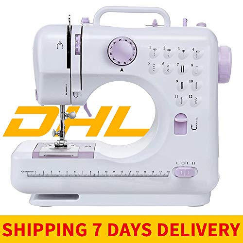 Beginner Sewing Machine,Mini Portable Sewing Machine Basic Easy To Use For Adults And Kids,Multifunction Electric Handheld Mini Sewing Machine With Foot pedal