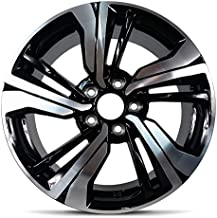 Road Ready Car Wheel For 2016-2019 Honda Civic 17 Inch 5 Lug Aluminum Rim Fits R17 Tire - Exact OEM Replacement - Full-Size Spare