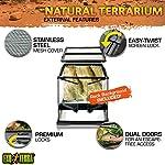 Exoterra Terrarium en Verre pour Reptiles et Amphibiens 30 x 30 x 30 cm #2
