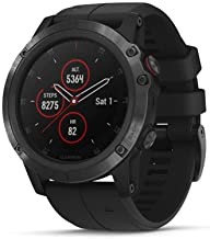 Garmin fēnix 5X Plus, Ultimate Multisport GPS Smartwatch, Features Color Topo Maps and Pulse Ox, Heart Rate Monitoring, Mu...