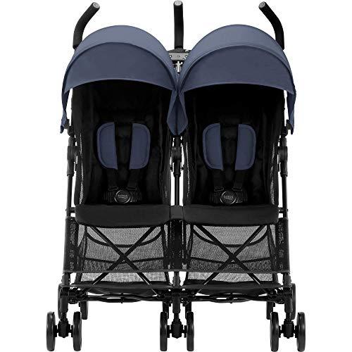 Britax Römer Poussette Duo |  HOLIDAY DOUBLE |  6 mois à 3 ans (Jusqu'à 15 kg par siège) |...