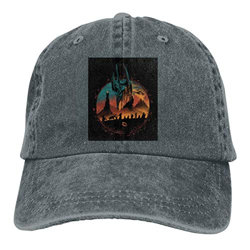 Preisvergleich Produktbild Middle Earth Quest Adjustable Sport Jeans Baseball Golf Cap Hat Unisex Style
