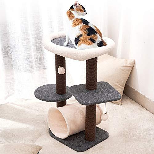 N\A Katze Kletterrahmen, Katzenturm Baum, Katzenbaum Eigentumswohnung, Katze Nest,...