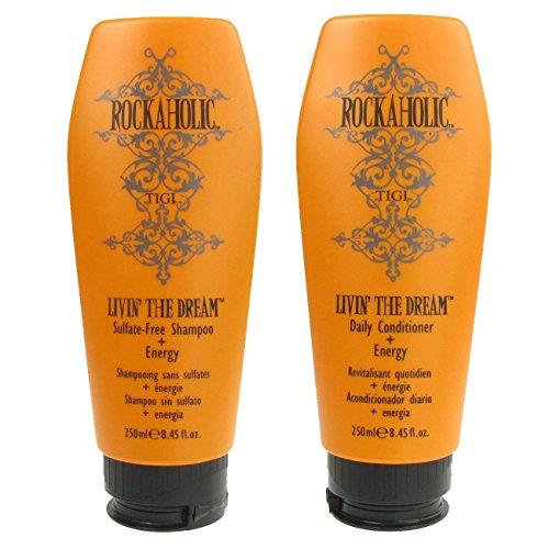 TIGI Rockaholic Livin The Dream Shampoo & Conditioner Duo