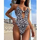 maozuzyy Bikinis Bañador Mujer Traje De Baño De Una Pieza De Cintura Alta Wone Traje De Baño De Teñido Anudado para Mujer Traje De Baño Push Up Swimwear-B27102_S