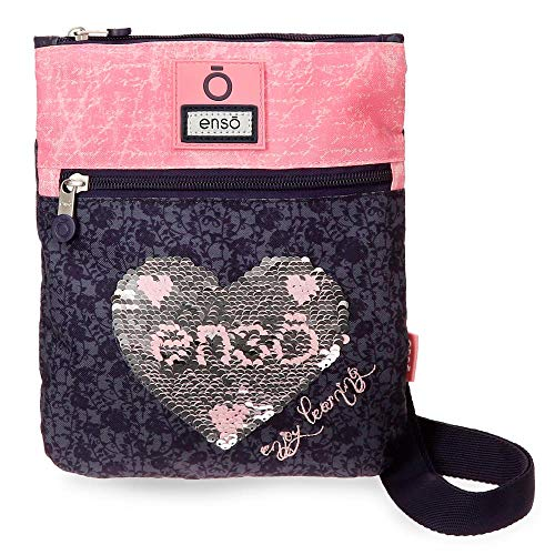Enso Learn Bandolera Plana Multicolor 20x24