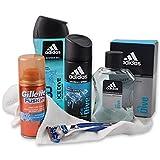 Unbekannt Geschenk-Set für Männer Ice Man mit Duschgel & Deo sowie Aftershave inklusive Gillette...