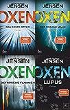 Die Niels-Oxen-Reihe Band 1-4 plus 1 exklusives Postkartenset