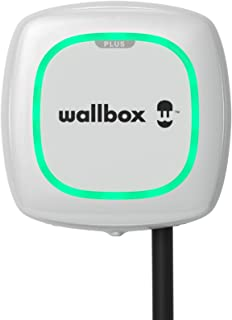 Wallbox Ładowarka Pulsar Plus do pojazdów elektrycznych. Regulowana moc do 22 kW. Kabel do ładowania typu 2. Połączenie W...