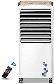 YYLKTS Ventilador de Aire Acondicionado Portátil,Mudo Pequeña Vertical Ventilador de Refrigeración,Aire Acondicionamiento Unidad por Casa Oficina,220V 66W el Ahorro de Energía/blanco / 402x350x