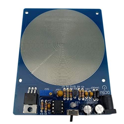 TOOGOO DC 5V 7.83HZ Ultra Nieder Frequenz Puls Wellen Generator Audio Resonator mit Box