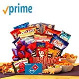 Movie Lovers Ultimate Movie Night Gift with Redbox Card, Dominos Pizza gift card, popcorn, chocolates, snacks and more