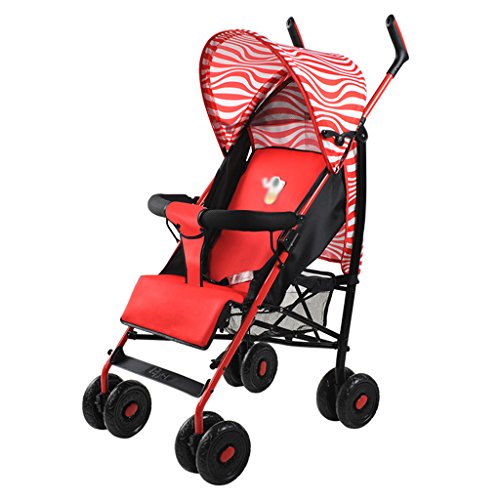 Find Discount SI YU Suitable for Baby Strollers Can Sit Easy to Carry Collapsible Rain Cover Waterpr...