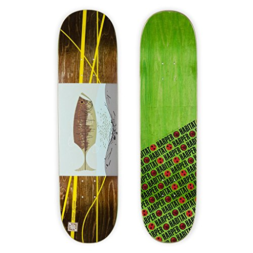 Habitat Skateboards Harper Familiar Fish – Marius Syvanen – Sortiert, 8.0