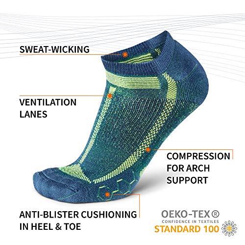 Danish Endurance Long-Distance Low-Cut Running Socks for Men & Women