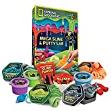 NATIONAL GEOGRAPHIC Mega Slime Kit & Putty Lab - 4 Types of Amazing
