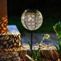 Ulmisfee Pathway Outdoor Solar Stakes Lights