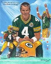 Brett Favre Green Bay Packers Lithograph
