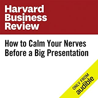 How to Calm Your Nerves Before a Big Presentation cover art