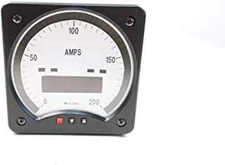 WESCHLER INSTRUMENTS B6241TC Ammeter 0-200A AMP