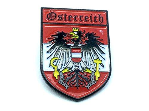 Patch Nation Österreich Wappen Österreichische Crest Flaggen Metall Pin Badge