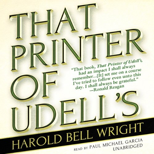 That Printer of Udell's audiobook cover art