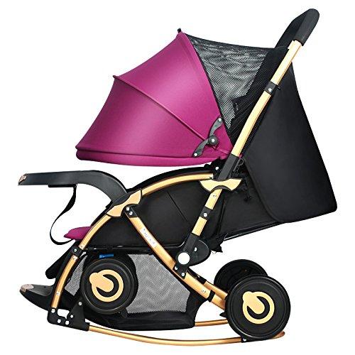 C-K-P Carro de bebé, función bidireccional de la mecedora