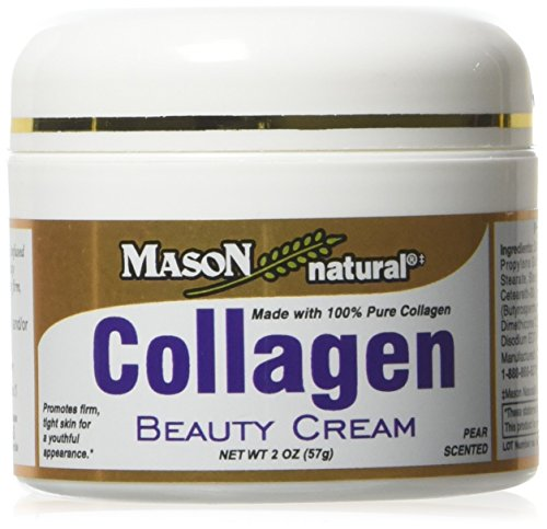 Collagen Beauty Cream Made with 100% Pure Collagen Promotes Tight Skin Enhances Skin Firmness 2 OZ. Jar PACK of 12