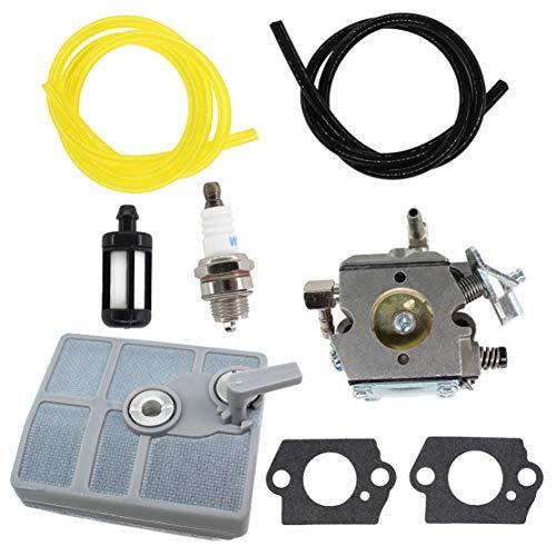 USPEEDA Carburetor Tune Up Kit for Stihl 030 031 032 030AV 031AV 032AV Chainsaw 1113 120 160 1113 120 1603