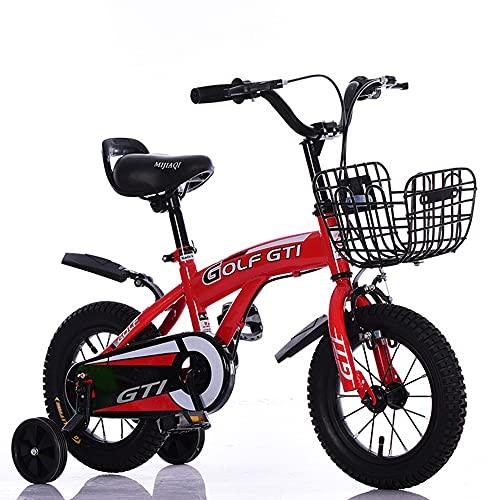 Bicicleta para niños 12-14-16-18 Pulgadas Bicicleta de Equilibrio de Bicicleta para bebés Masculinos y Femeninos