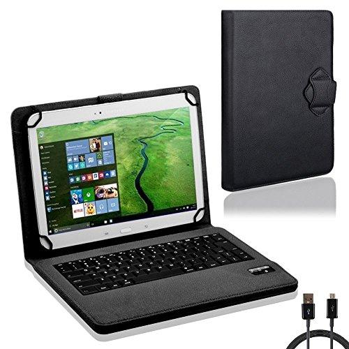 NAUC Tasche Tastatur für Blaupunkt Endeavour 101M 101G 101L Hülle Schutzhülle Cover Hülle Bluetooth