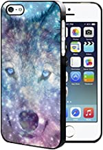 Galaxy Wolf Face IPhone 5/5S/SE Hard Case Back Cover