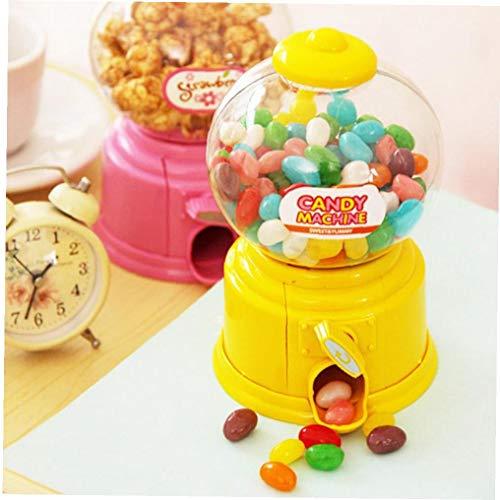 Burbuja Linda Dulce de Caramelo Mini máquina de chicles dispensador de Monedas del Banco niños Juguetes Regalo de los niños