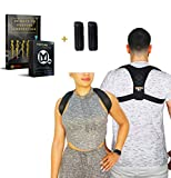 Fitness Functions™ Posture Corrector, Back Support Adjustable Back Brace for Men and Women