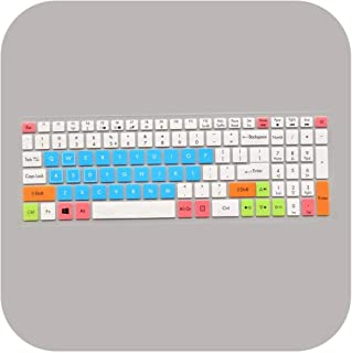 JPLJL キーボード カバー 15.6インチキーボード保護フィルムカバーfor Acer VX5 Aspire VX15 VX5-591G VX 15ゲーミングラップトップVX5-591G-54VG-pink-ノートブックキーボードカバー 防...