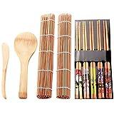 Calidad 9Pcs / Set Diy Sushi Maker Set Rice Mold Kitchen Sushi The Tool Kit Sushi Mold Cooking Tools Set For Sushi Roll Cooki