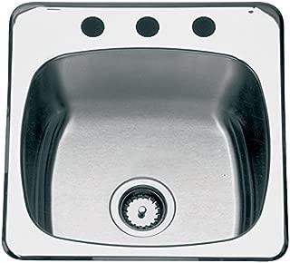 Stnlss Sngl Bowl 20X20-1/2X7 FRANKE CONSUMER PRODUCT Kitchen Sinks RSL2020/3