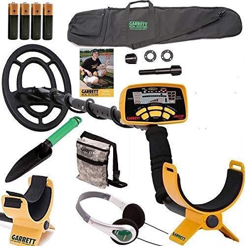 Garrett Ace 250 Metal Detector withHeadphones, DVD, Digging Trowel, Finds...