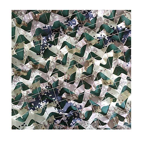 SJMWZW Camouflage Net Wüste Tarnnetz Anwendbar für Camping Versteckte Jagd Zelt Camouflage Sonnenschirm Sunbird Watching Party Spiel Startseite Halloween Weihnachtsdekoration (größe : 6 * 8m)